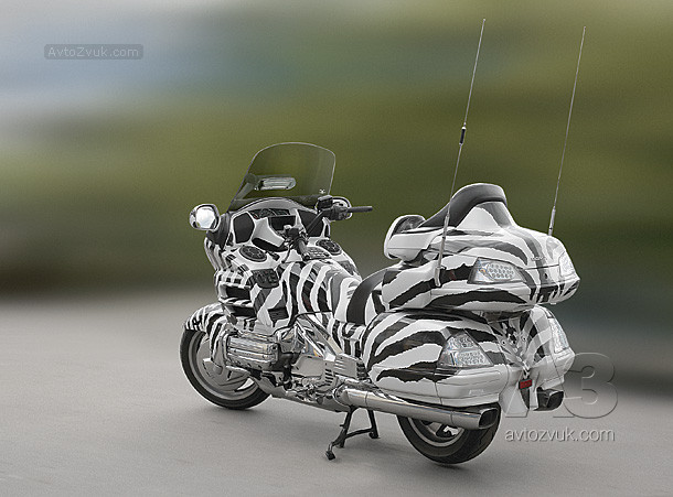 Аудиосистема на HONDA GOLDWING GL 1800 A7