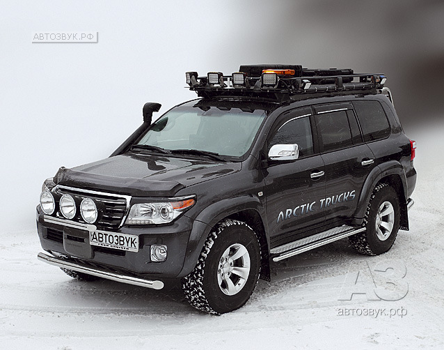 Аудиосистема в Toyota Land Cruiser