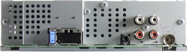 Pioneer MVH-280FD сзади